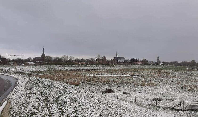 Sneeuw in Megen. (Foto: Gemma van Schijndel)