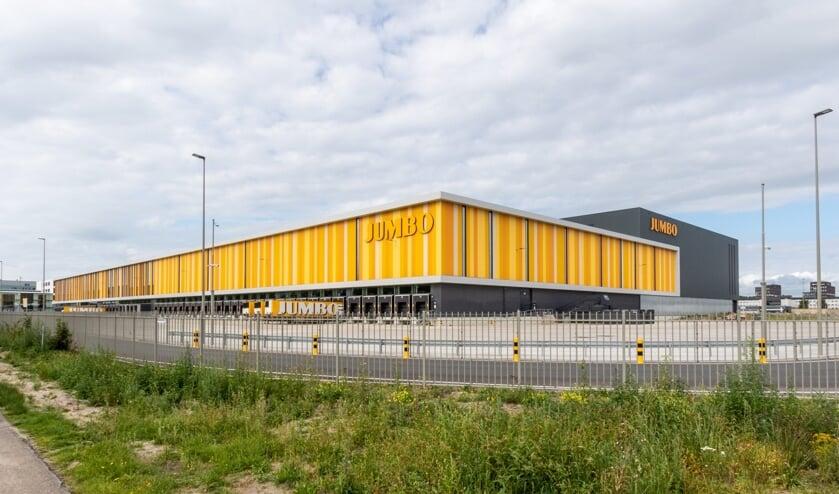 <p>Het distributiecentrum van Jumbo in Nieuwegein.</p>