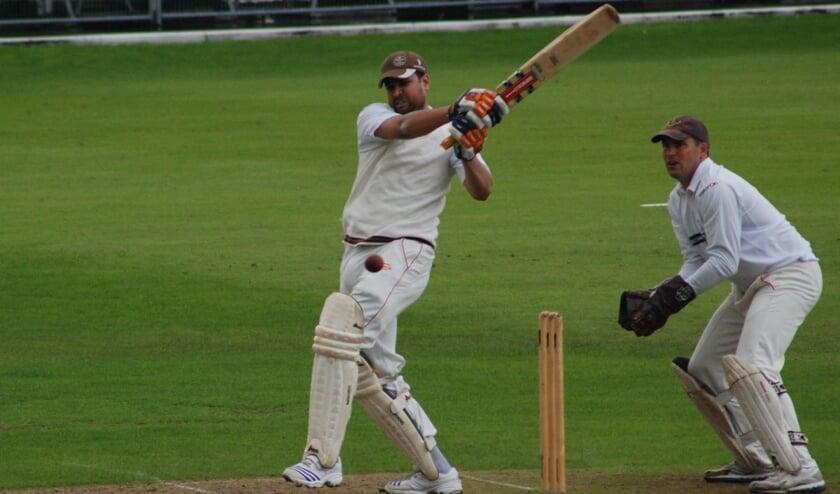 Bij de Wanderers wordt al 45 jaar cricket gespeeld.