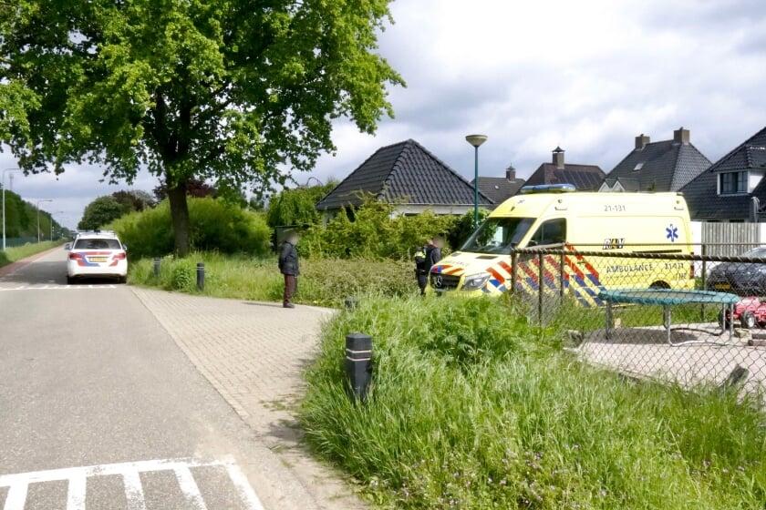 <p>Het ongeval vond op de kruising Parallelweg-Hazelaar in Boxmeer plaats. (Foto: SK-Media)</p>