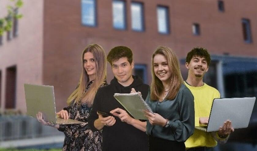 <p>HAS Hogeschool studenten Amber, Juul, Pien en Joes.</p>