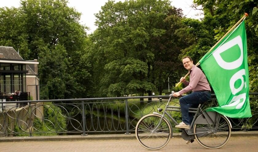 <p>Gertjan Hobert lijsttrekker van D66 Meierijstad.</p>