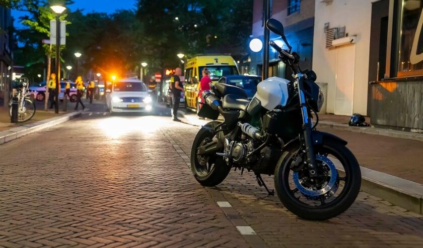 Ongeval in het Osse centrum. (Foto: Gabor Heeres, Foto Mallo)
