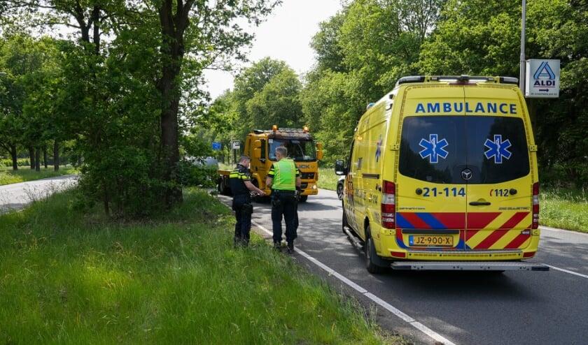 Ongeval op de Ruwaardsingel. (Foto: Gabor Heeres, Foto Mallo)