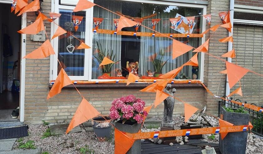 Oranjekoorts in Oss en omgeving. (Foto: Sanne van Hoorn van Buul)