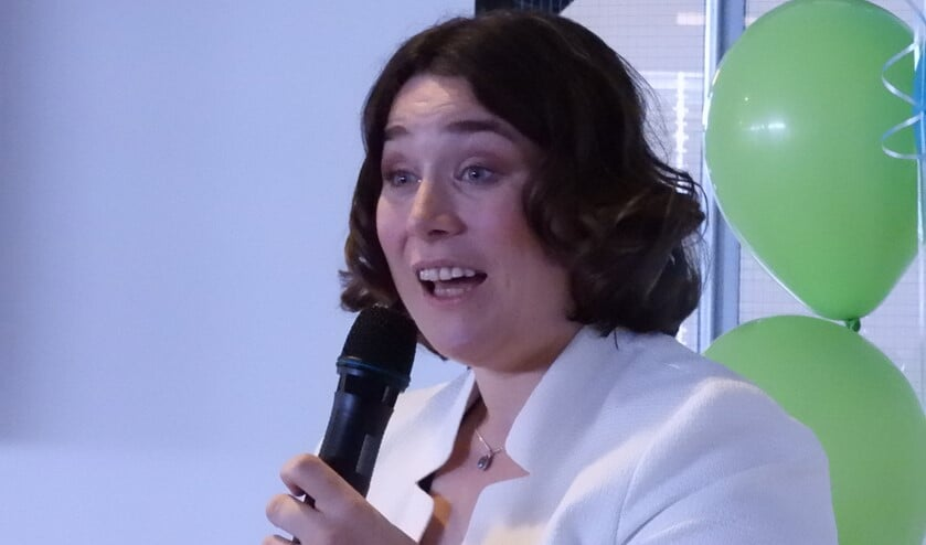 Marianne spreekt graag over de kansen die ontstaan door het verbeteren van de toegankelijkheid voor mensen met een beperking. (Foto: Willem van Altena)