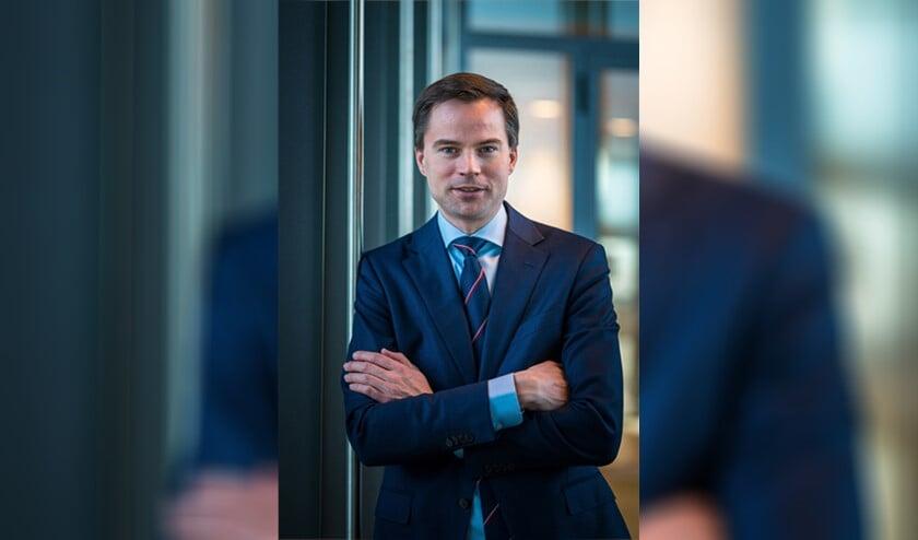 <p>Jan-Willem van den Beukel is voor het eerst als wethouder nauw betrokken bij de begroting. (Foto: Ariane Kok)</p>