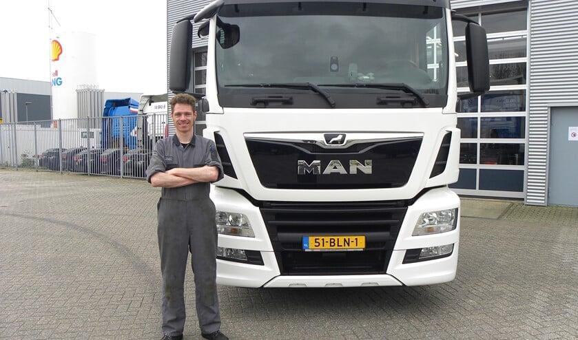 Geen enkele MAN truck heeft nog geheimen voor Michiel.
