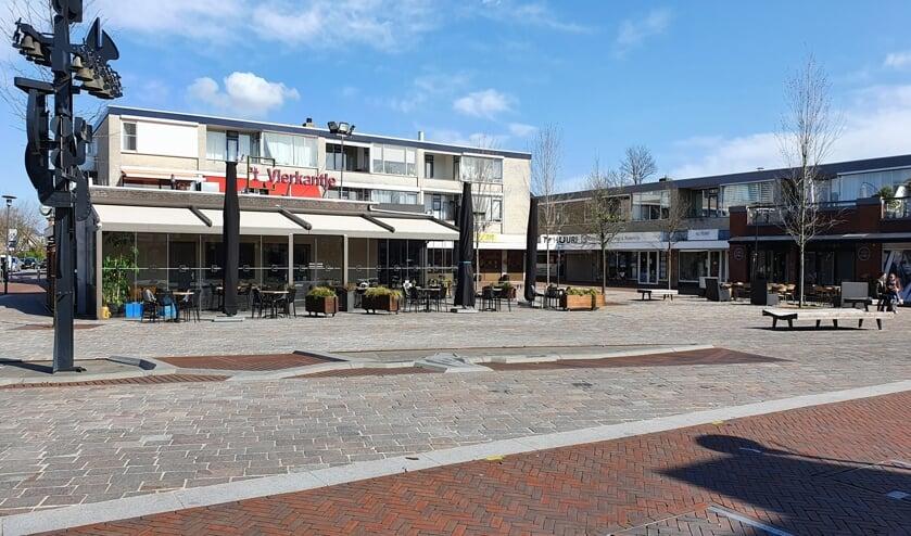 Het was maandag muisstil in het centrum van Berkel en Rodenrijs. En dat op zo'n zonnige dag!