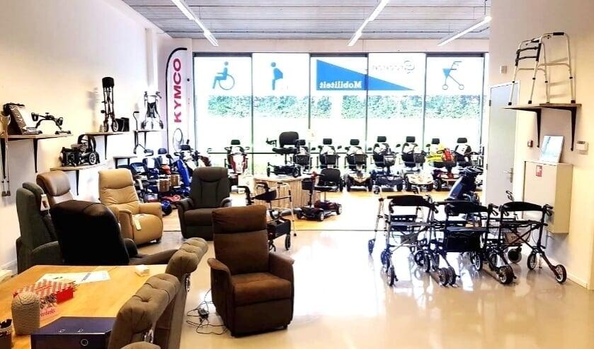 De showroom van Groenen Mobiliteit in Berkel en Rodenrijs.