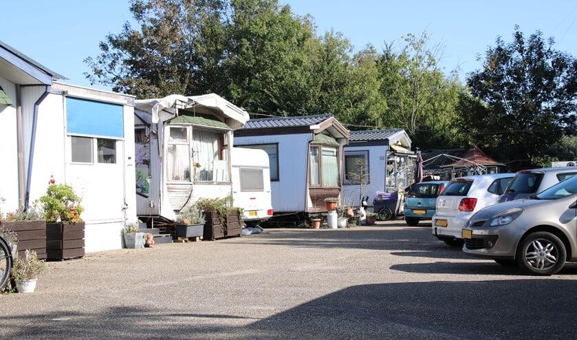 Er lijkt eindelijk schot in de zaak te zitten voor de bewoners van het woonwagenkamp aan de Bosland in Bergschenhoek. (Foto: Spa Media)