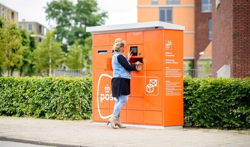 <p>Een pakket- en briefautomaat. (Foto: PR PostNL)</p>