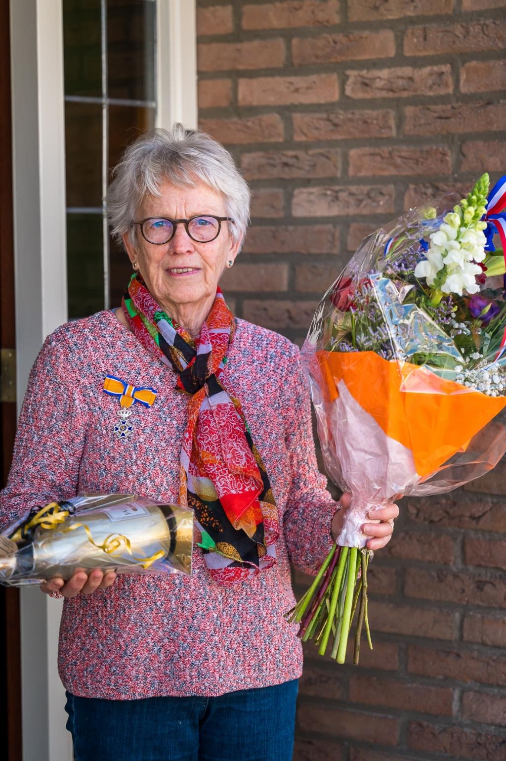 <p>Mevrouw Oudshoorn. (Foto: Ariane Kok)</p> © hartvanlansingerland