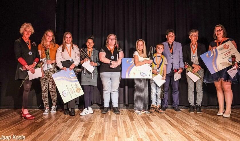 <p>De deelnemers aan de eerste editie van de DEB Challenge, in 2019. (Foto: Jaap Koole)</p>