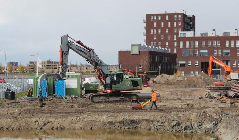 <p>De werkzaamheden in Berkel Centrum West zijn begonnen. (Foto: Martijn Mastenbroek)</p>