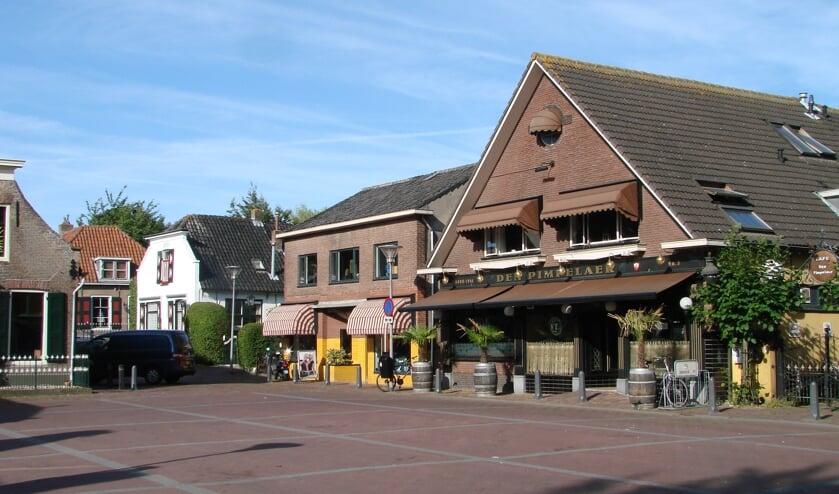 Op het Doormanplein is ruimte voor grotere terrassen.