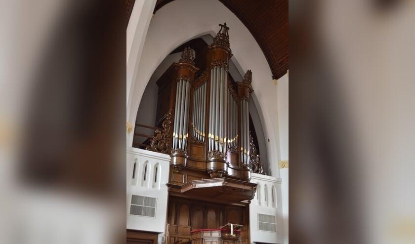 Het orgel van de Adriaen Janzkerk