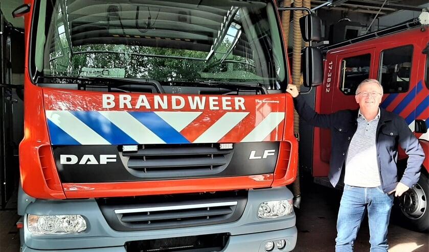 <p>Gerard Prinse mist door het thuiswerken de brandweer</p>