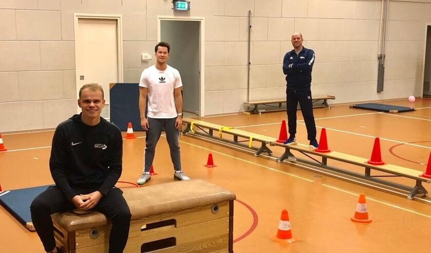 <p>Jeffrey van Veen (Buurtsportcoach), Freek Feenstra (gymleerkracht), Mario Nooitgedagt (JCR Judo Barendrecht) </p>