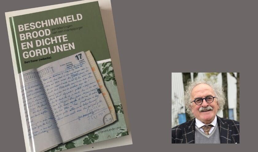 <p>Bert Euser bundelde de dagboekaantekeningen van zijn moeder.</p>