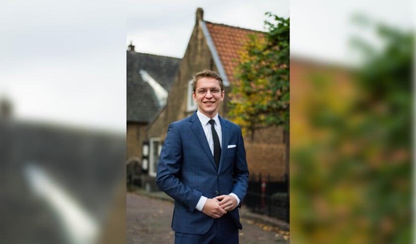 <p>Rick van de Waerdt staat op de SGP-lijst voor de Tweede Kamerverkiezingen</p>