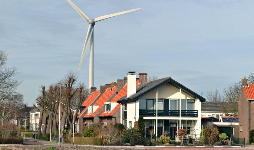 <p>Windturbine in Geervliet.</p>