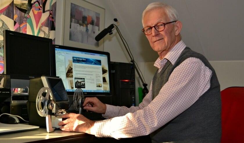 <p>Bas Romeijn heeft een regionale filmbank online gecreëerd.&nbsp;</p>