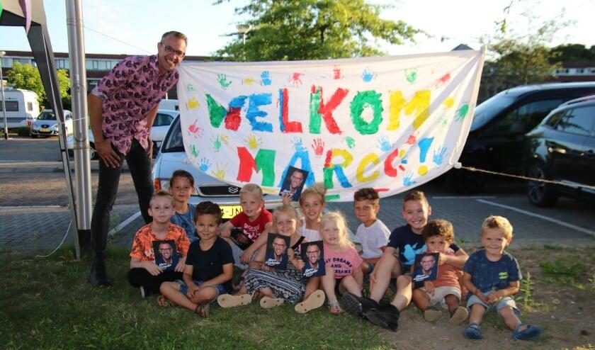 De kinderen zagen Marco graag komen