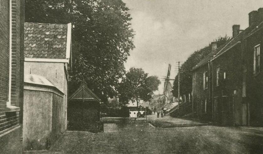 <p>Het brandweerhuisje aan de Benedenrijweg in Ridderkerk</p>