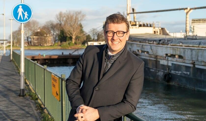 <p>Wethouder Marco Oosterwijk hoopt op veel input van de Ridderkerkers op het online platform.</p>