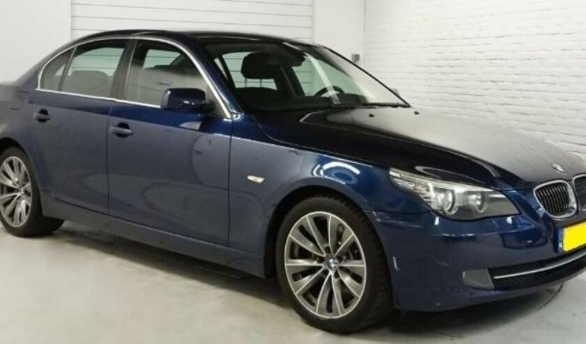 <p>Een soortgelijke BMW als deze werd als vluchtauto gebruikt en eerder in Capelle aan den IJssel gestolen (foto: politie) </p>