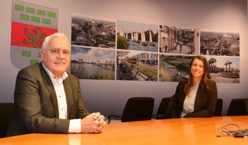 <p>Cees Schaap en Tanja de Jonge: &#39;Je hebt een andere rol in je eigen gemeente&#39;.&nbsp;&nbsp;</p>