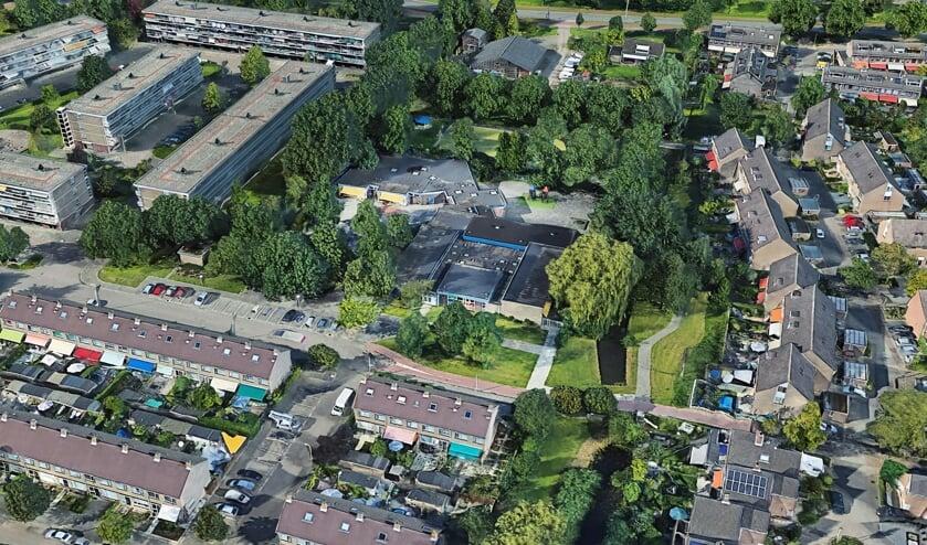 <p>Het nieuwe gebouw voor De Noord komt op plek van de huidige school</p>