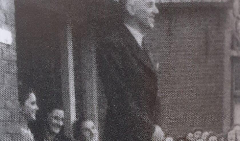 <p>Zo zag Frans van Rij eruit na de bevrijding in 1945.</p>