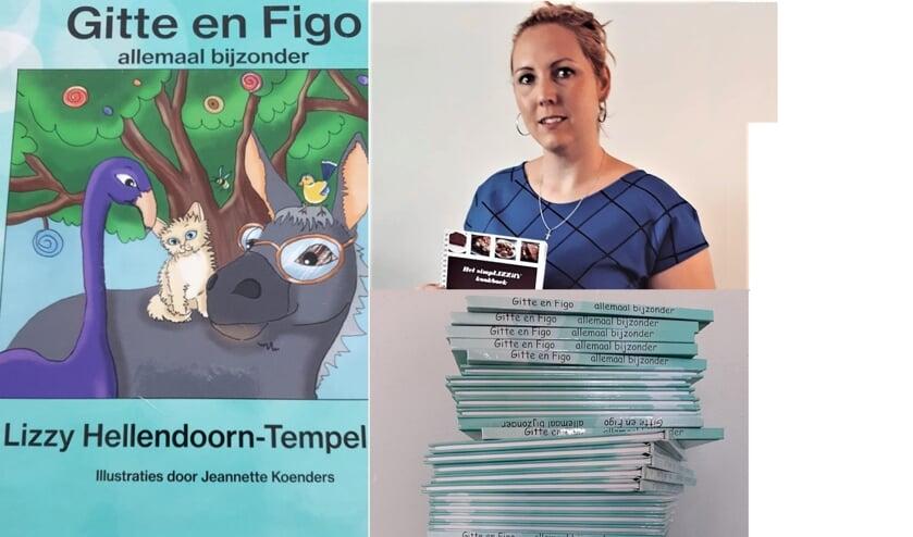 <p>Lizzy Hellendoorn schreef na haar kookboek een leuk kinderboek</p>
