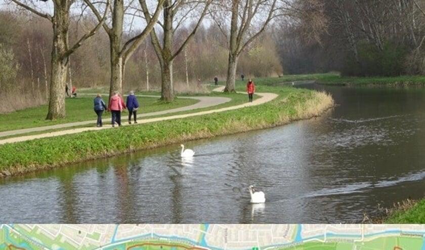 <p>Het is prettig wandelen in het Oosterpark, u kunt toch wel 5 kilometer lopen en genieten van de natuur.&nbsp;</p>