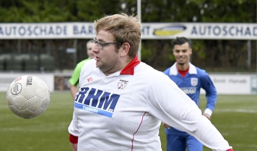 <p>G-voetbal bij BVV.</p>