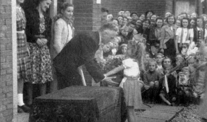 <p>Welkom thuis voor Frans van Rij na de bevrijding in 1945.&nbsp;</p>