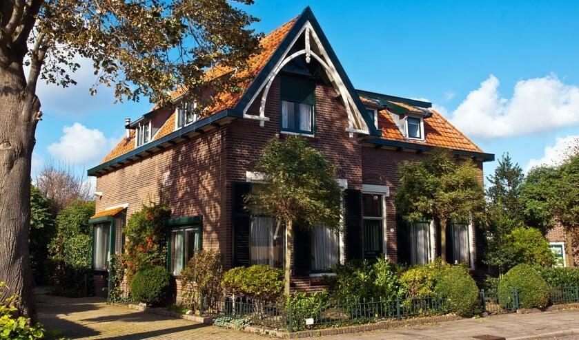 In dit huis woonden tot in de vijftiger jaren diverse onderwijzers. | Foto PR