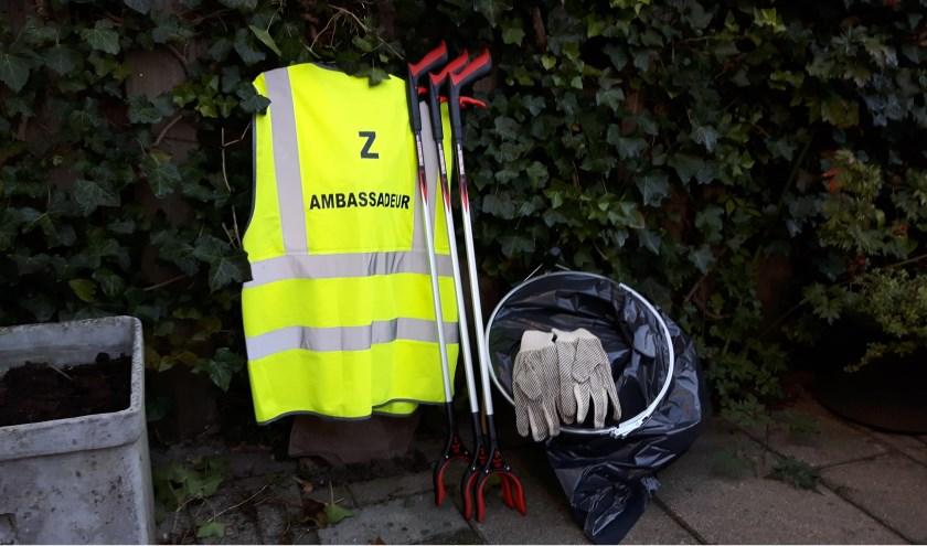 De nieuwe uitrusting voor de Z-ambassadeurs. | Foto: PR