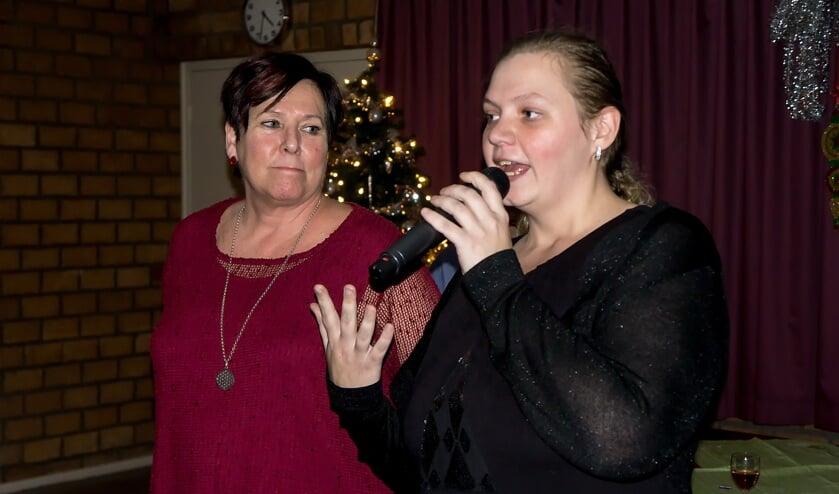 Daniëlle Melissen tijdens haar toespraak.   Foto: J.P. Kranenburg