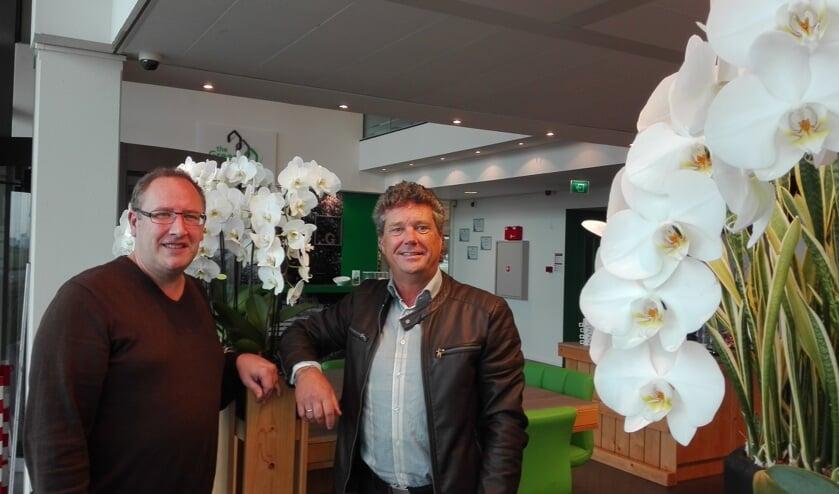 Kevin van der Emden (l) en Cor Middelkoop.