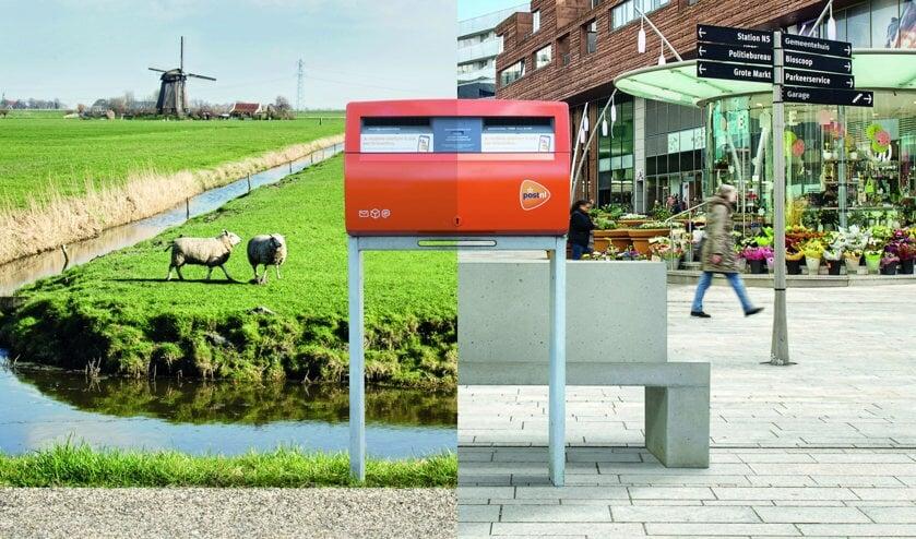 Weinig gebruikte brievenbussen worden verplaatst naar drukkere plekken.