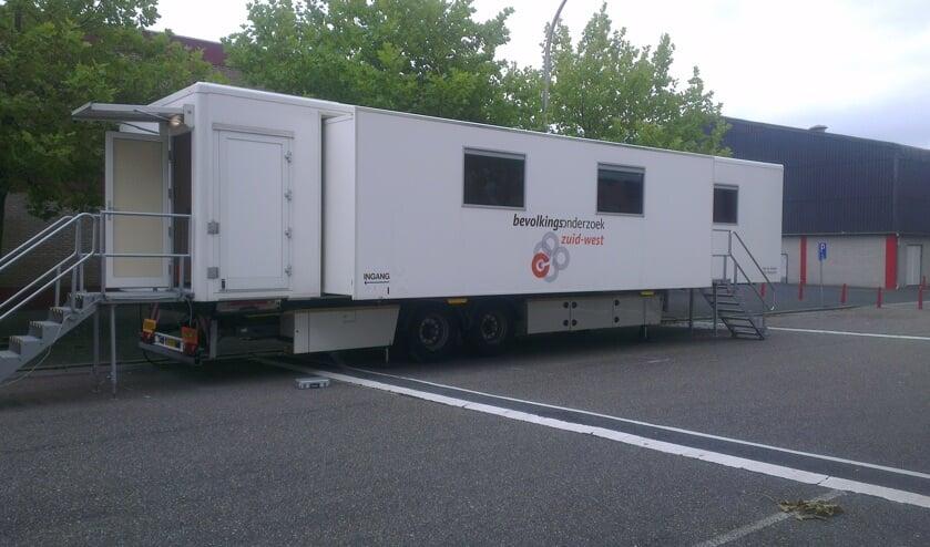 <p>Het mobiele onderzoekscentrum. | Foto: pr.</p>