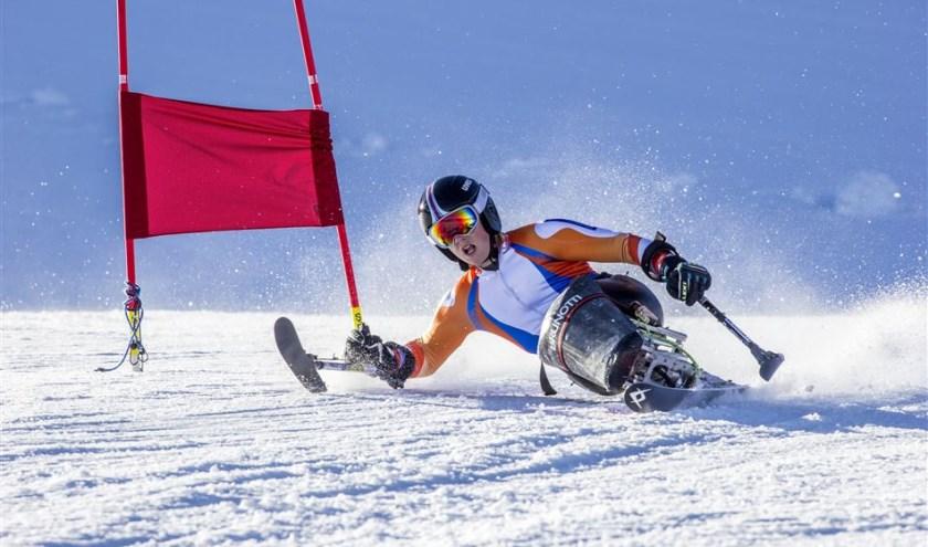 Jeroen Kampschreur in actie. | Foto: PR Nederlandse Ski Vereniging