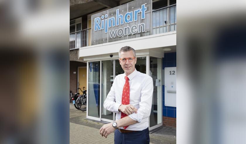 Directeur-bestuurder Jan de Vries van Rijnhart Wonen.