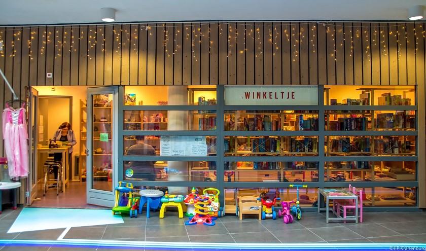 Tweedehands speelgoedzaak 't Winkeltje in De Sterrentuin.   Foto: J.P. Kranenburg