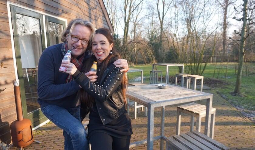Johan Klerks en Anke van Elteren organiseren op 5 maart de tiende editie van de ParkKidsClub Disco in Brasserie Park. | Foto: PR
