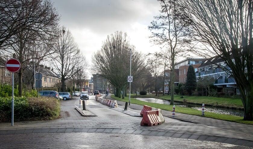 De van der Marckstraat gezien vanaf de kruising met de Lijnbaan. | Foto: J.P.Kranenburg