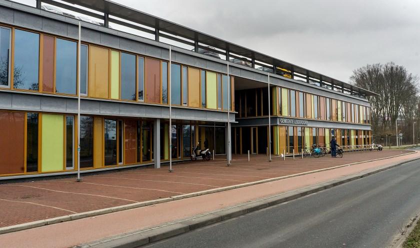 Het gemeentehuis van Leiderdorp.